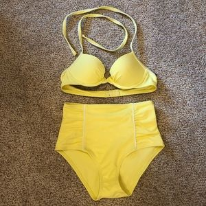 Aerie Push-up and High Rise Bikini